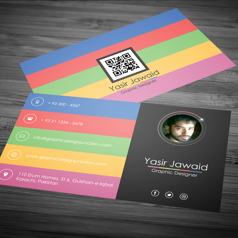 Modern Business Card Design – Moksha Host Canada – Calgary