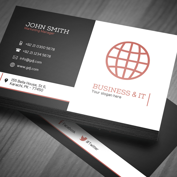 professional corporate business card 001 moksha host canada